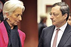 Lagarde e Draghi