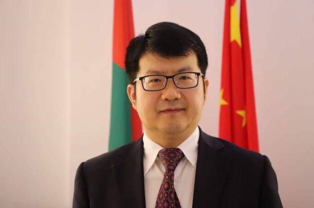 Son Excellence,Li Jian,Ambassadeur de la Republique populaire de Chine au Burkina Faso