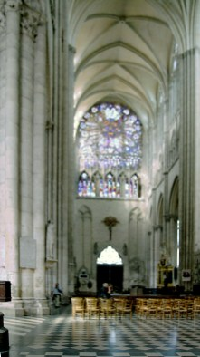 Cathédrale Amiens - Rosace