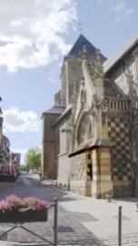 Saint Valéry en Somme - Église Saint Matin