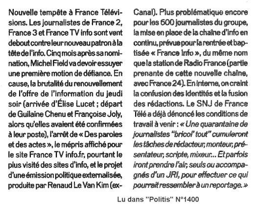 Tempete FR TV