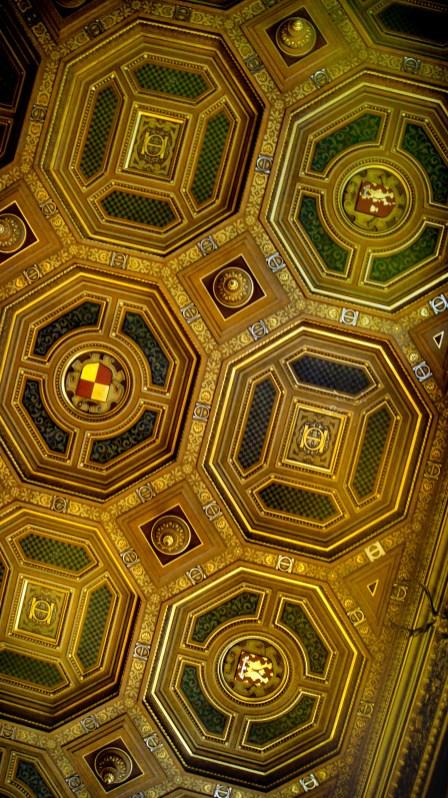 Château de Chantilly - Galerie d'Office - Le plafond