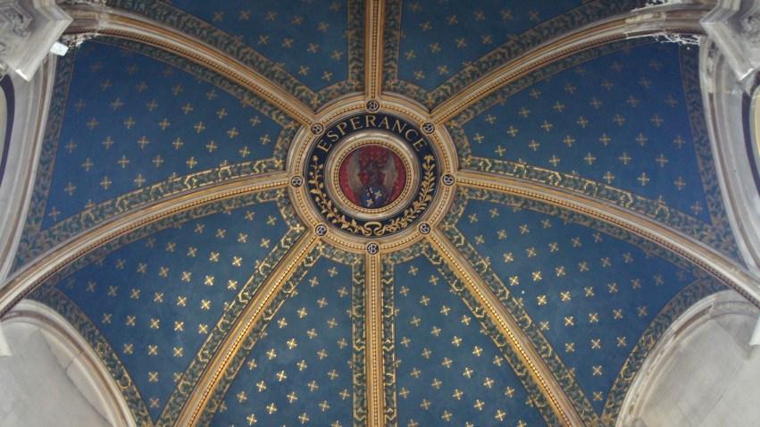 Château Chantilly - Un des plafond de rotonde