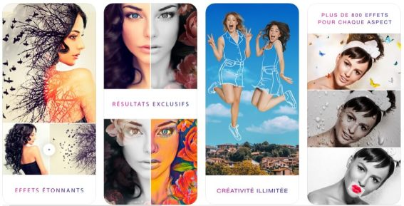 Photo Lab meilleures applications ios et Android