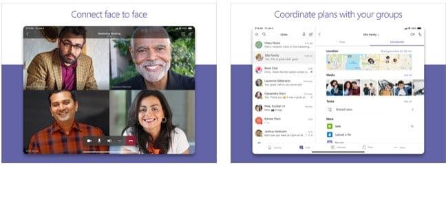 Microsoft Teams pour vidéoconférence