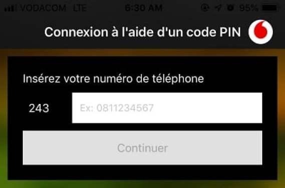 Vodacom-RDC App