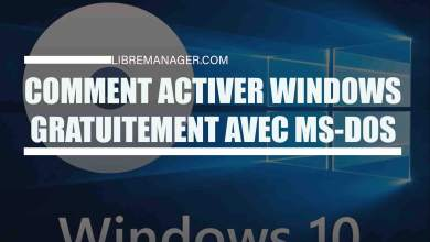 Photo of Comment Activer Windows Gratuitement  et Le Cracker Avec L'Invite de Commandes DOS?