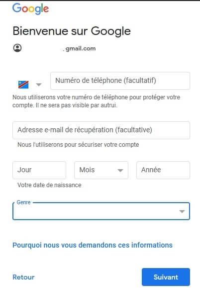 Créer un Compte Google Gratuitement et Facilement
