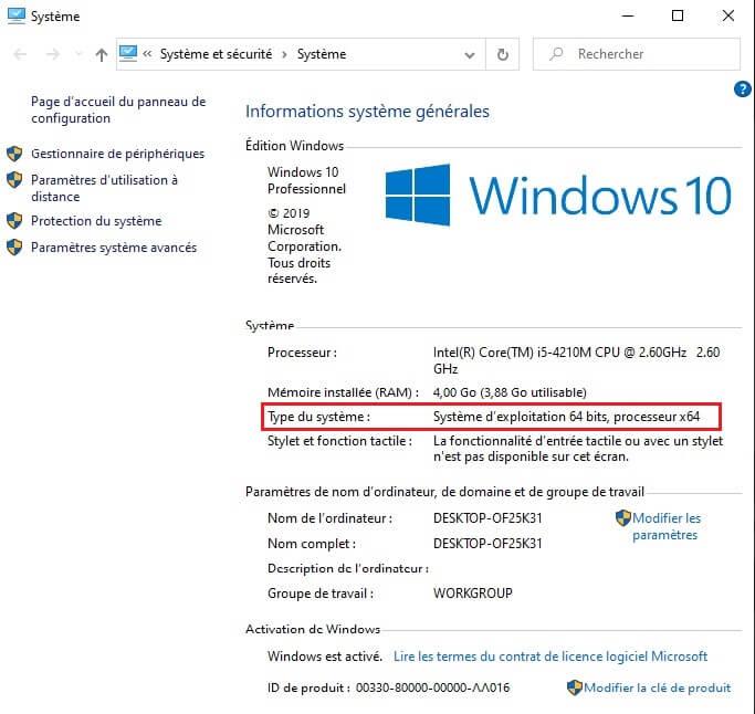 Passer de Windows 32 bits à 64 bits facilement sur Libre Manager
