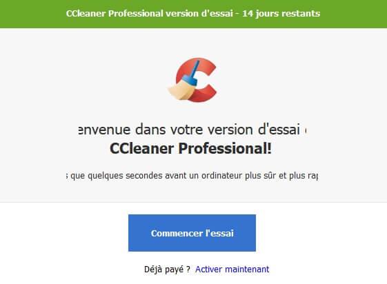 Télécharger CCleaner professionnel pour nettoyer votre PC