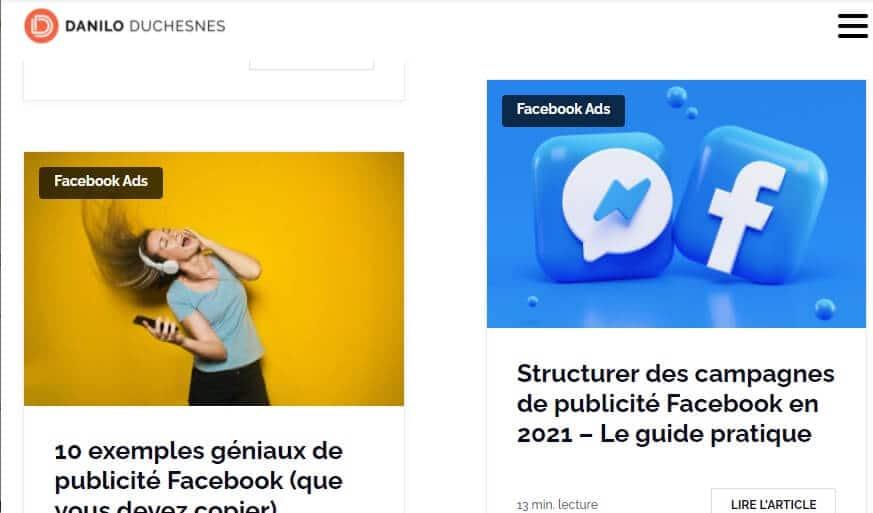 Blogging Sites- Danilo Duchesnes