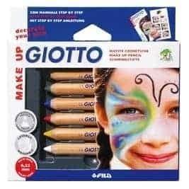 Giotto Make Up 6 Lapices cosméticos - libreria elim