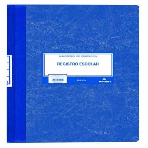 libro registro escolar rhein 355521