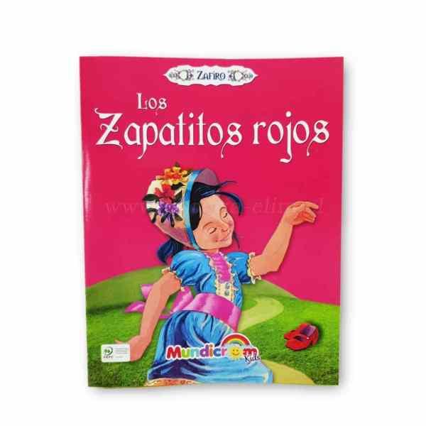 LOS ZAPATITOS ROJOS COLECCION ZAFIRO