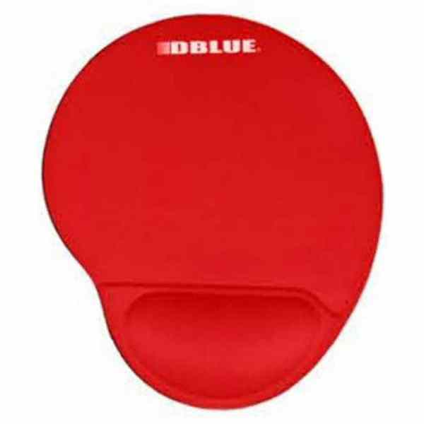 PAD MOUSE RED DBLUE ERGONOMICO