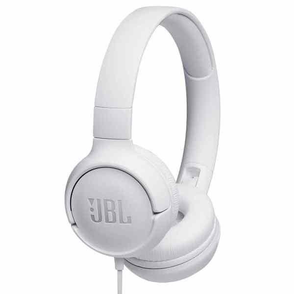 AUDIFONOS JBL TUNE 500 ON-EAR BLANCO