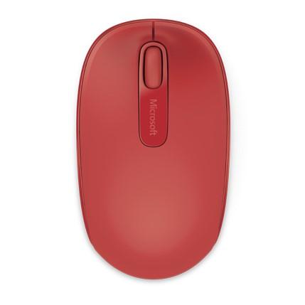 Mouse rojo microsoft