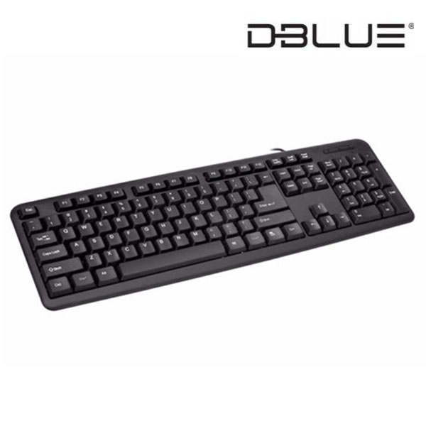 Teclado USB Standard Dblue DBK752BK