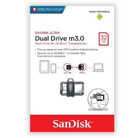 pendrive 32GB dual drive-box