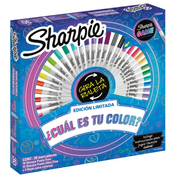 sharpie game 30 pcs