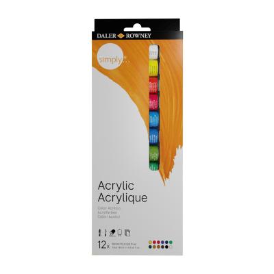 acrilico 12 colores