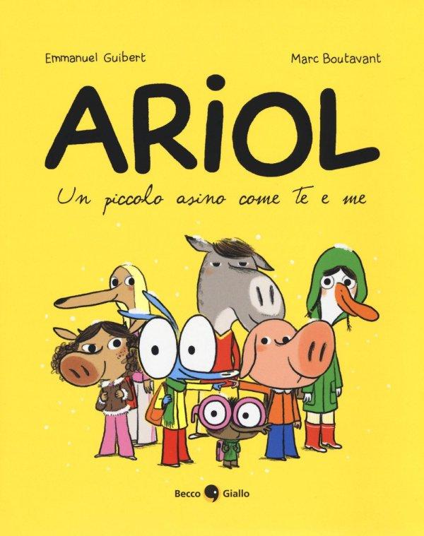 "Libro ""Ariol. Un piccolo asino come me e te"""