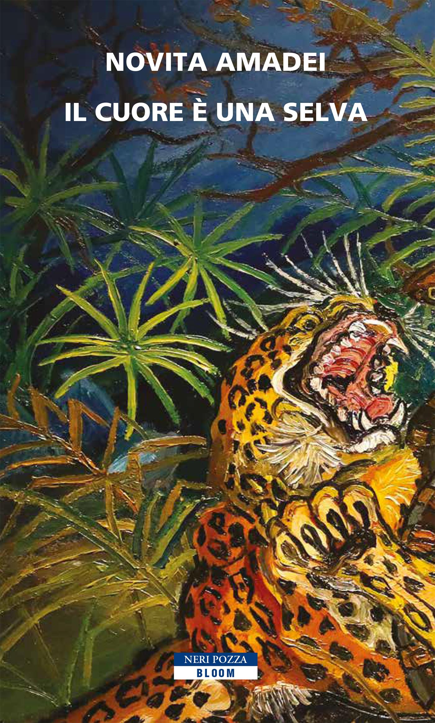 tigre in una selva. il cuore è una selva