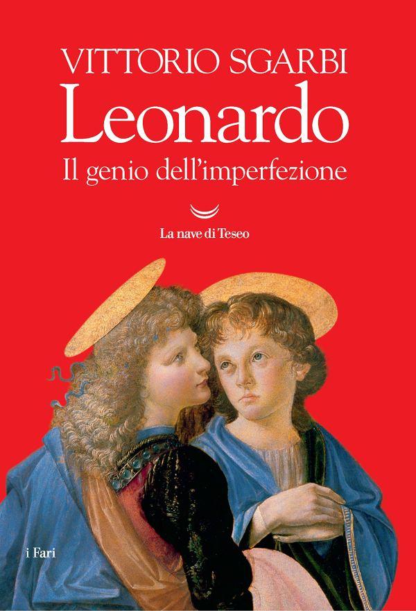 leonardo: il genio dell'imperfezione. due angeli su sfondo rosso