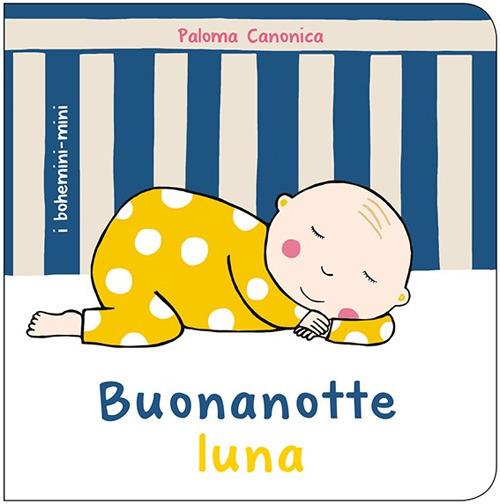 Copertina del libro Buonanotte Lune per il progetto Nati per Leggere