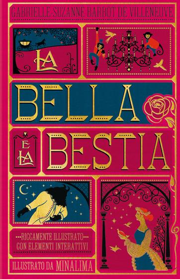 Copertina del libro La Bella e La Bestia