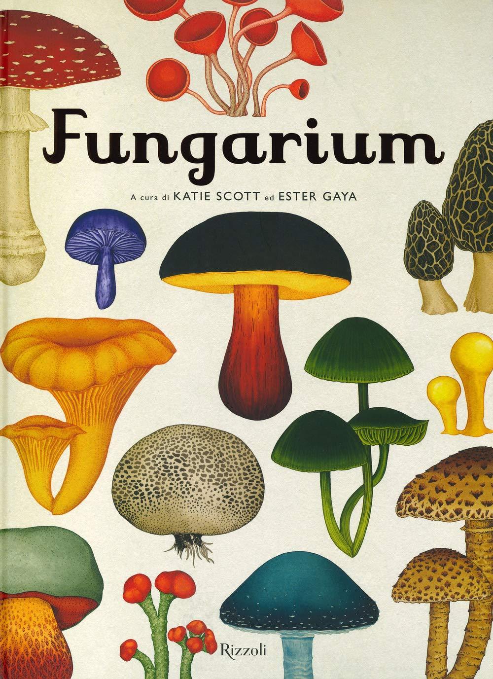 Copertina di Fungarium di Scott e Gaya