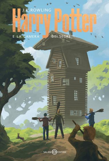Copertina del libro Harry Potter e la camera dei segreti