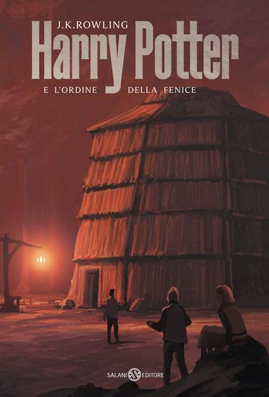 Copertina del libro Harry Potter e l'Ordine della Fenice