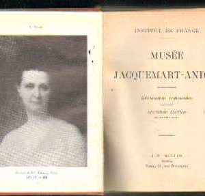 MUSEE JACQUEMART - ANDRE - CATALOGUE ITINERAIRE