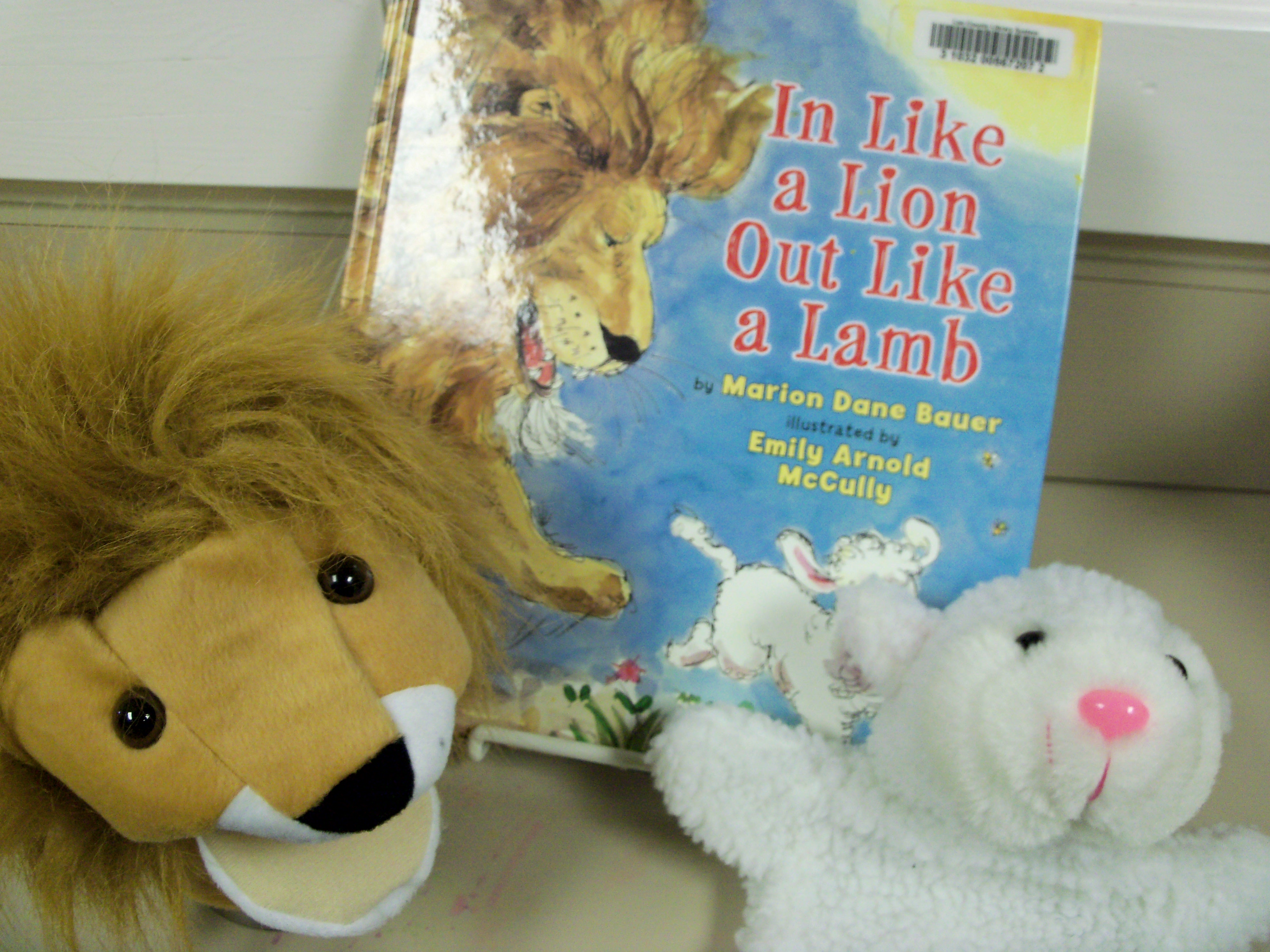 Preschool Storytime In Like A Lion Out Like A Lamb Librerin