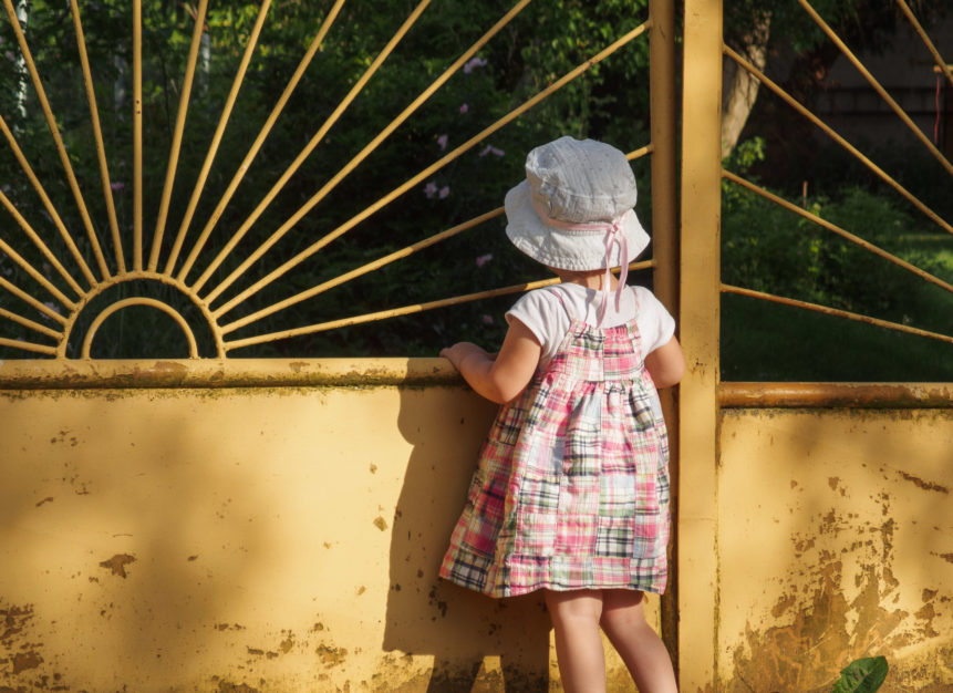 Lonely Little Girl Free Image On Libreshot