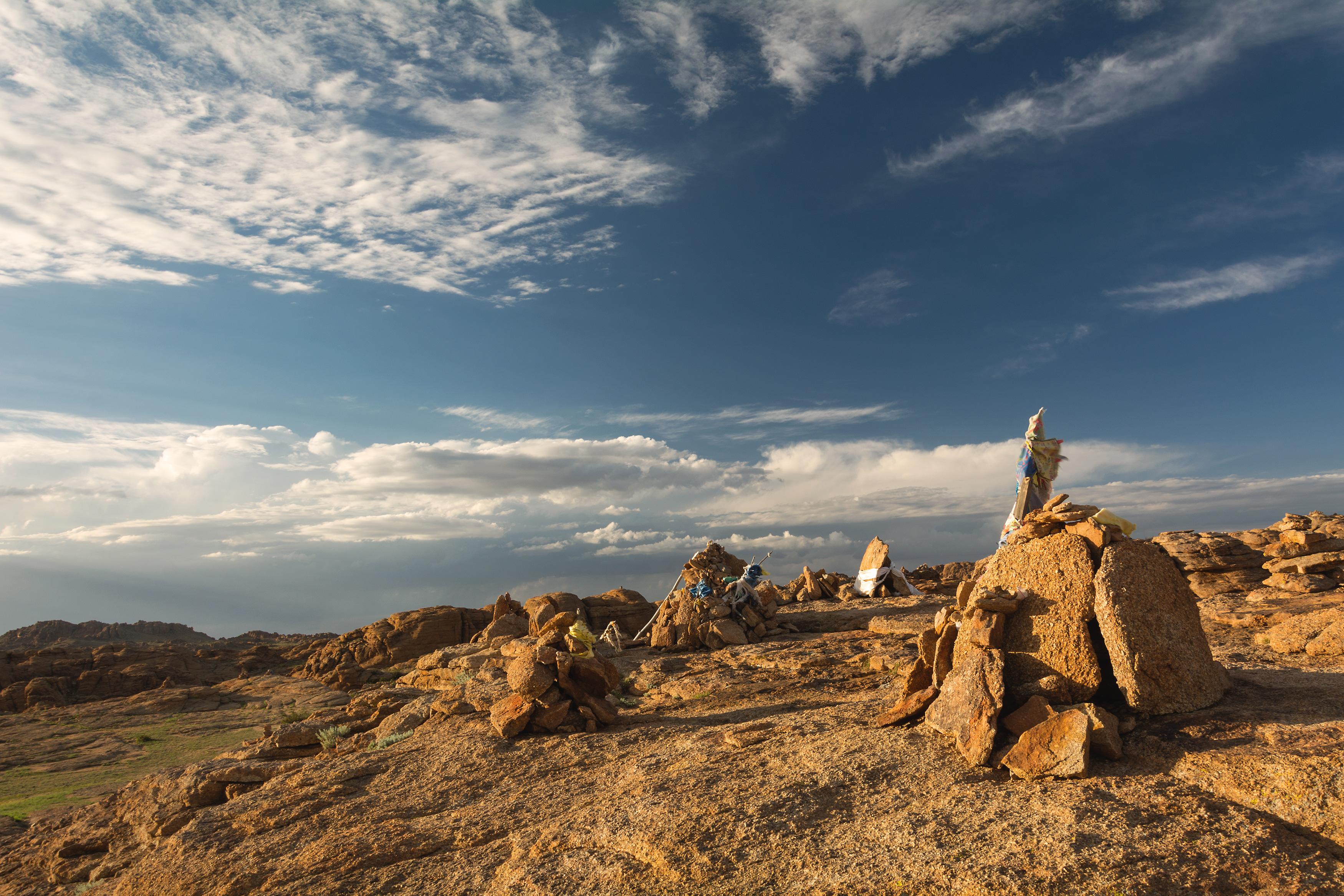 Holy Rock in Baga Gazryn Chuluu
