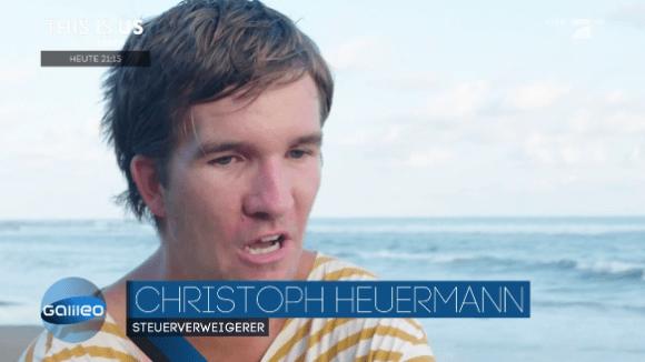 Christoph en la TV