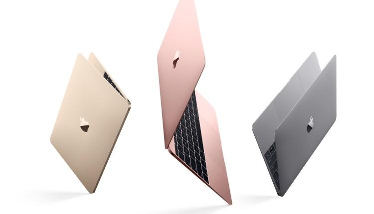 Apple actualiza la MacBook con mayor duración de la batería y un nuevo acabado color oro rosa