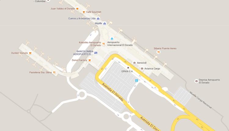 """Viaje por los aeropuertos colombianos con """"Mapas Interiores"""" de Google"""