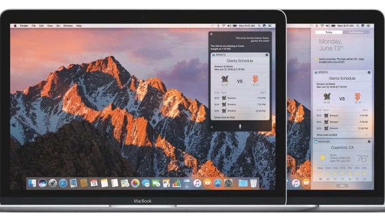 Apple presenta el avance de una gran actualización con macOS Sierra