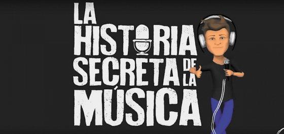 """""""La historia secreta de la música"""" en podcast"""""""