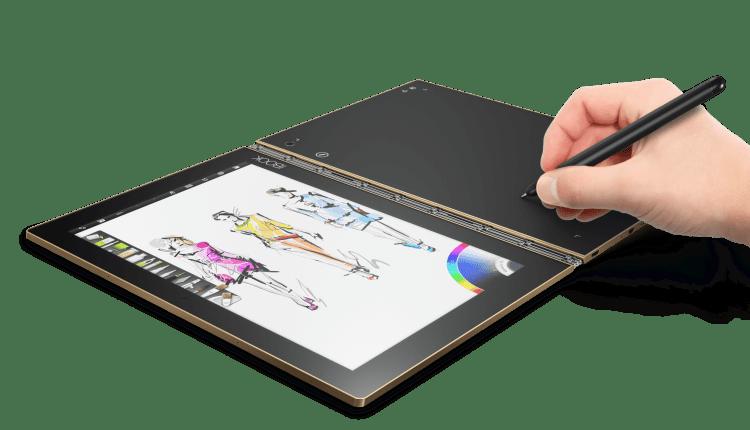Yoga Book, la tablet para quienes llevan sus ideas a otro nivel