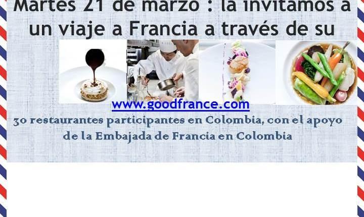 «Goût de France» 2017 llega a Bogotá para celebrar la gastronomía francesa