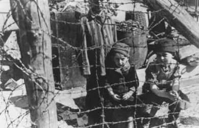 Niños judíos, la estrella amarilla