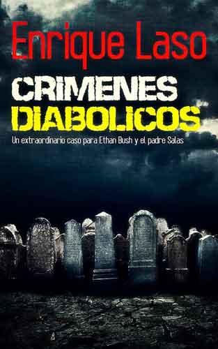 Crímenes diabólicos, el padre Salas y Ethan Bush juntos