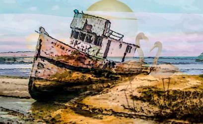Ilustración de la isla, entrega 20 de la novela ¡Qué día el de aquella noche!