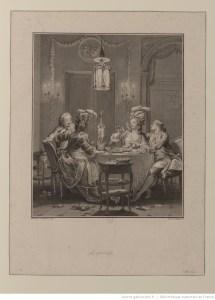 Le souper mal apprêté de Hauteroche