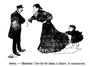 Invite Monsieur à dîner. Source : BnF/Gallica