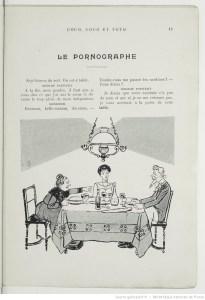 Le pornographe de Georges Courteline
